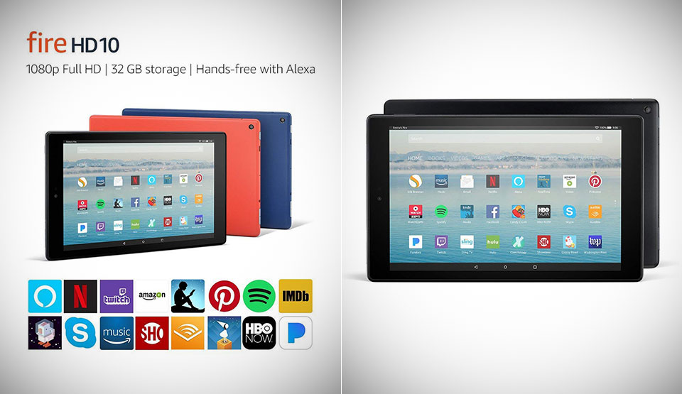 Amazon Fire HD 10 Tablet Deal