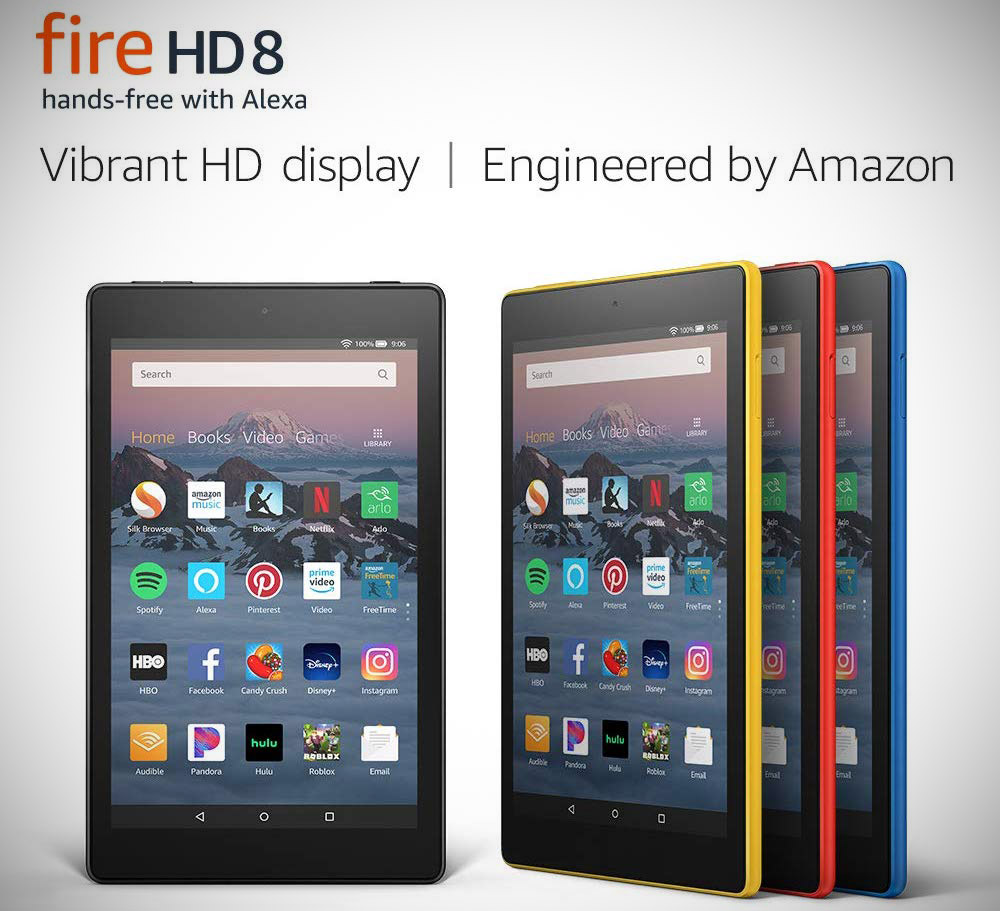 Amazon Fire HD 8 2019
