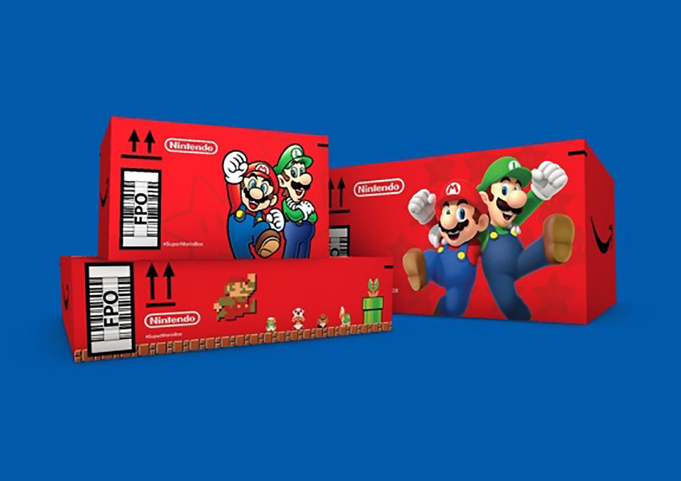 Amazon Limited Edition Mario Box