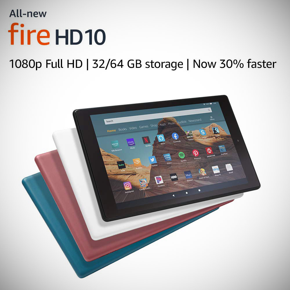 Amazon New Fire HD 10 USB-C