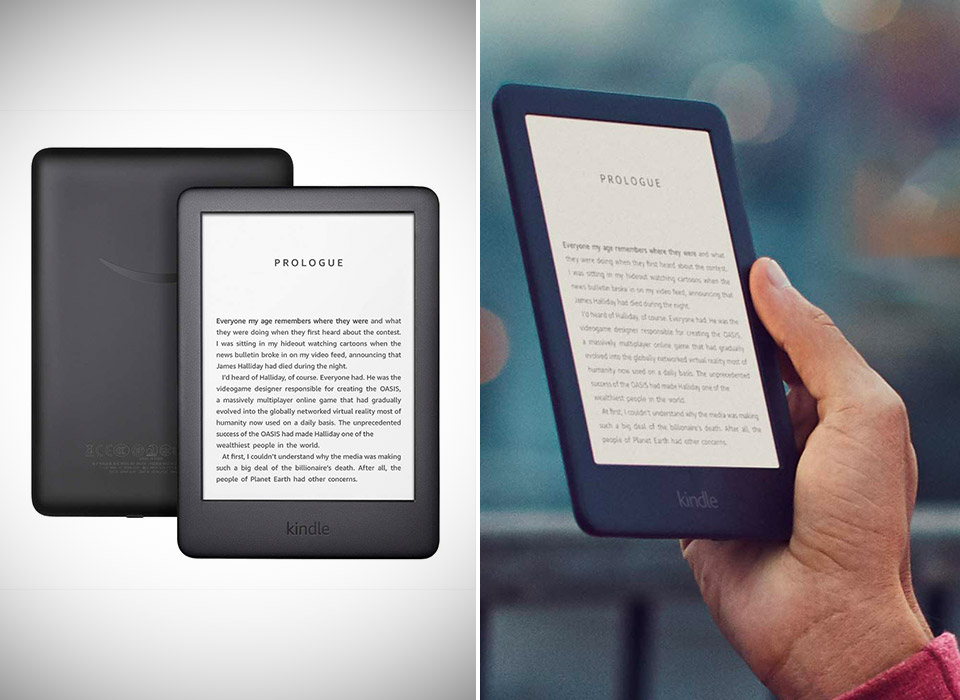 Amazon New Kindle Front Light