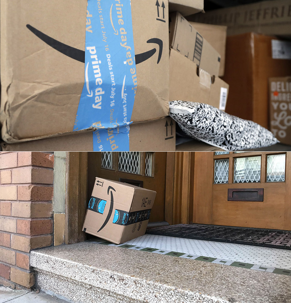 Amazon Package Delivery Bait Boxes Theft
