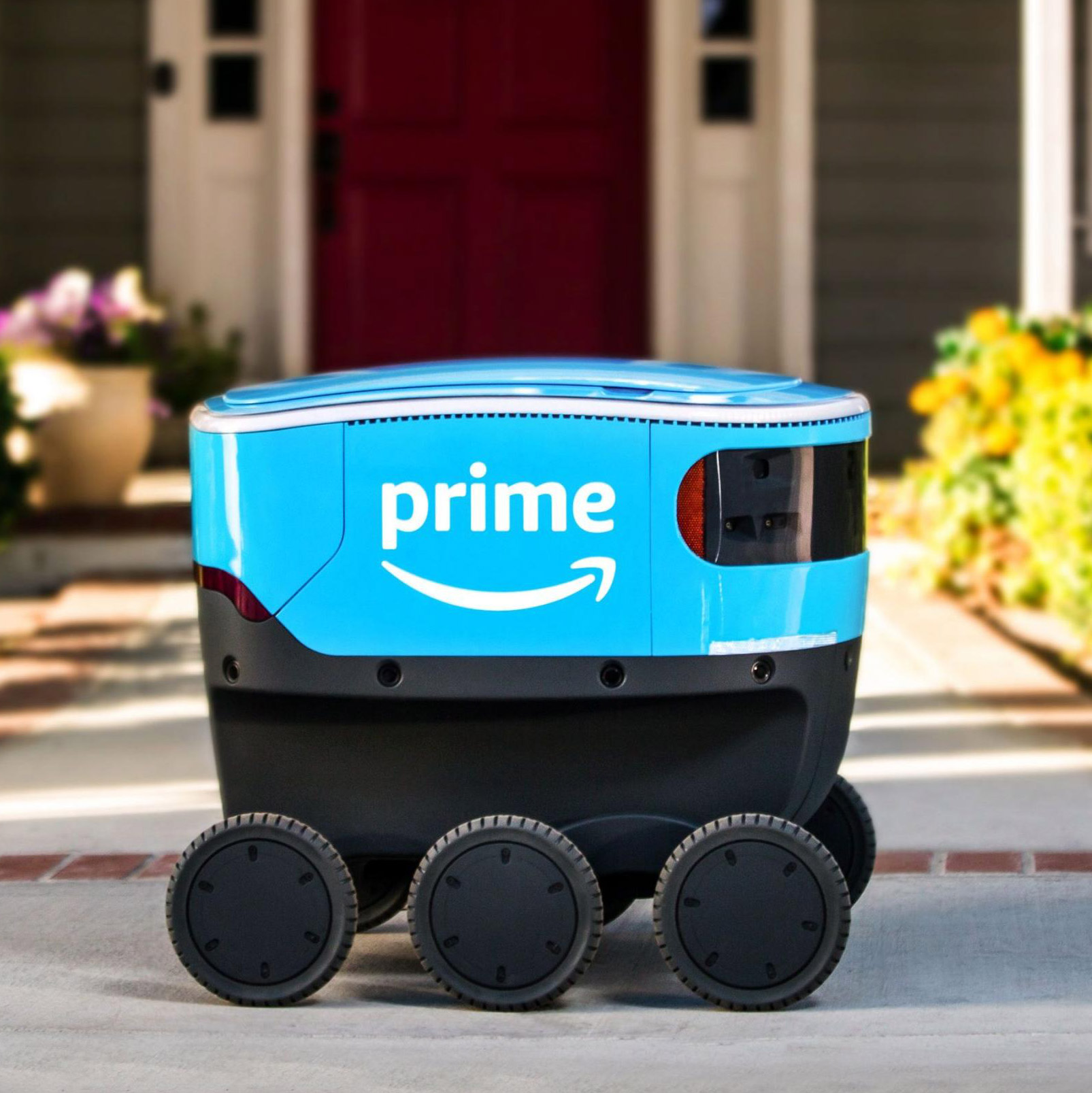 Amazon Scout Robot Self Driving Car