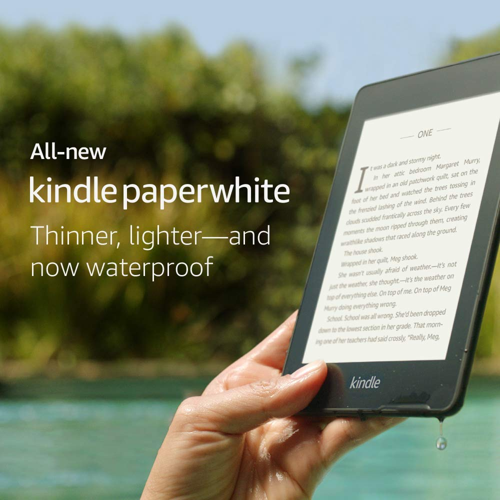 Amazon Kindle Paperwhite 4 2018 Review Deal
