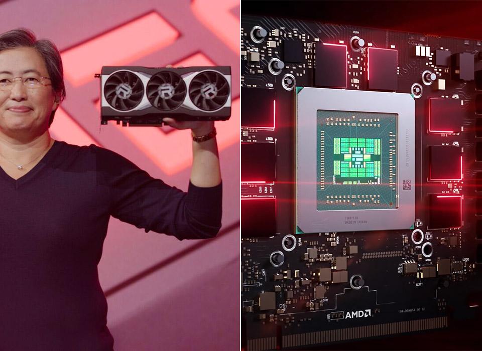 AMD Radeon RX 6000 6900XT GPU