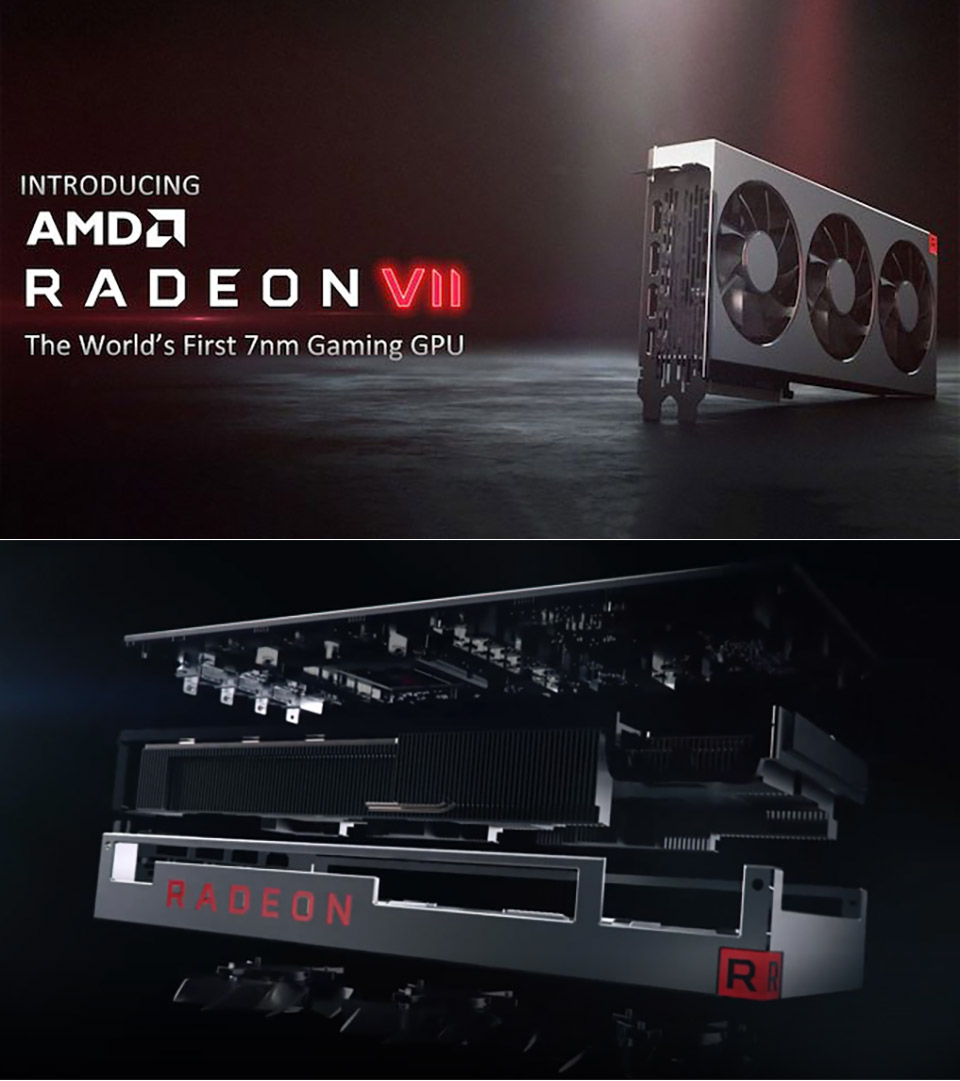 AMD Radeon VII 7nm Gaming GPU CES