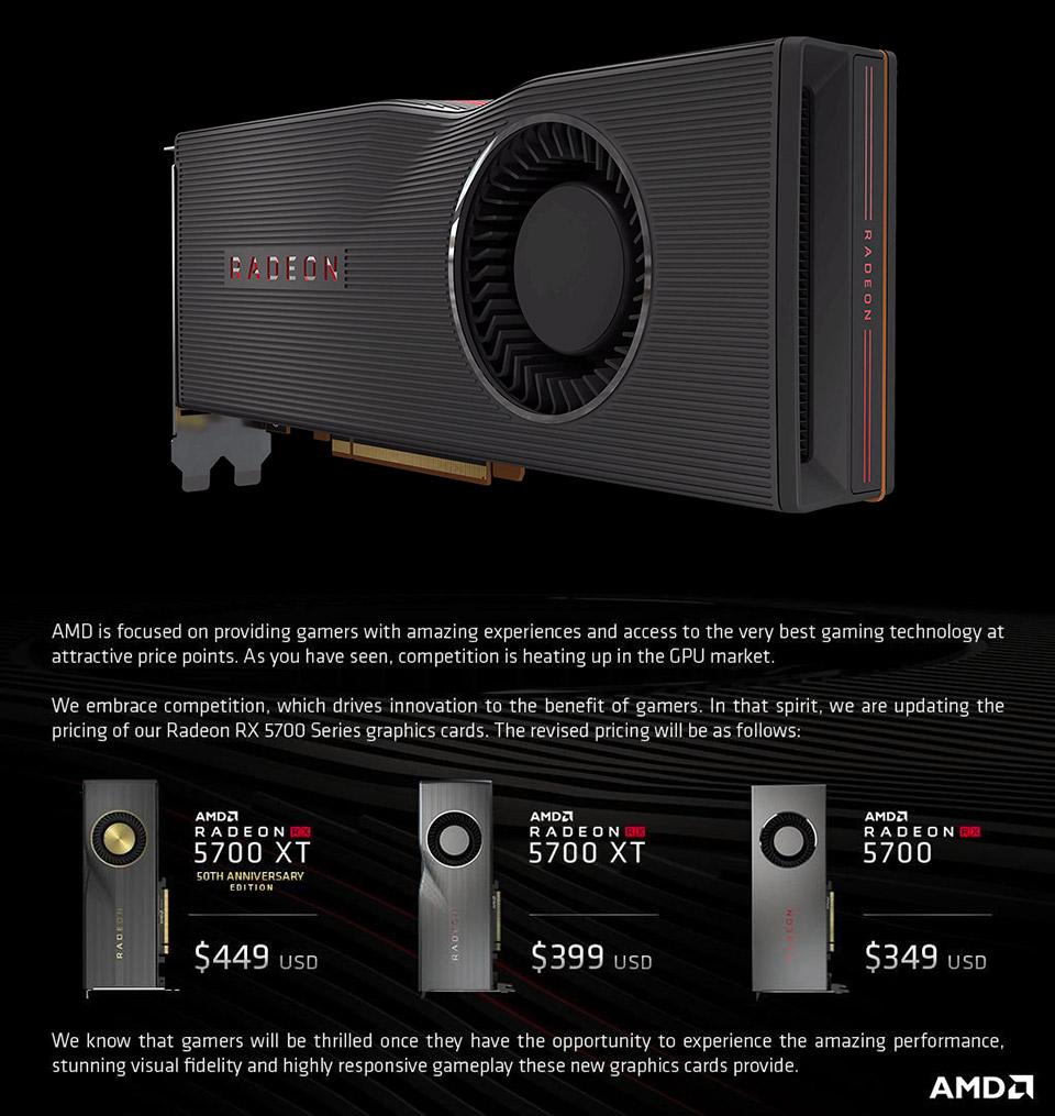 AMD RX 5700 NVIDIA RTX Super