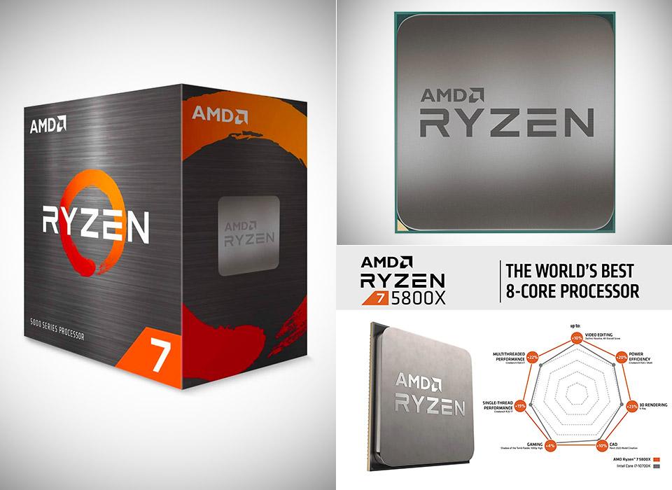 AMD Ryzen 7 5800X CPU Processor