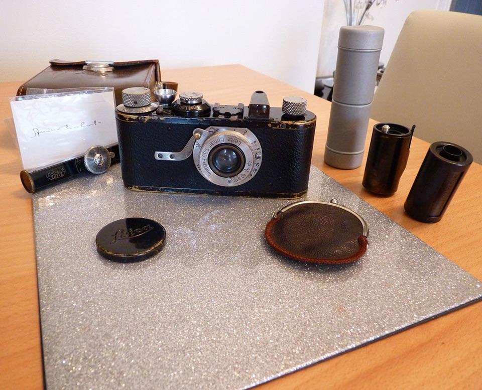 Amelia Earhart Leica Camera