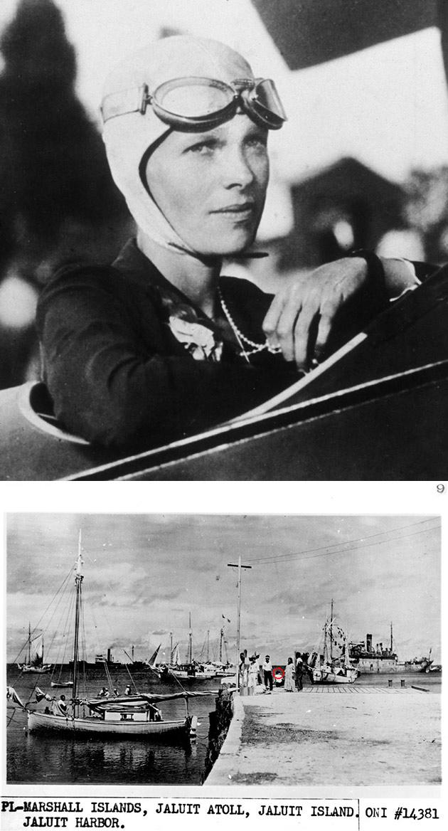 Amelia Earheart Spotted