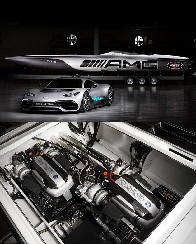 AMG Cigarette Project One