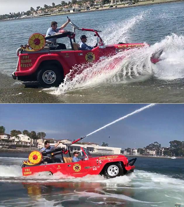 WaterCar Fire Rescue