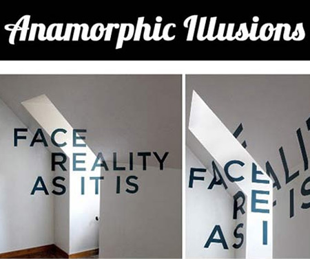 RealLife D Anamorphic Illusions That Will Make You Look Twice - Anamorphic art looks real
