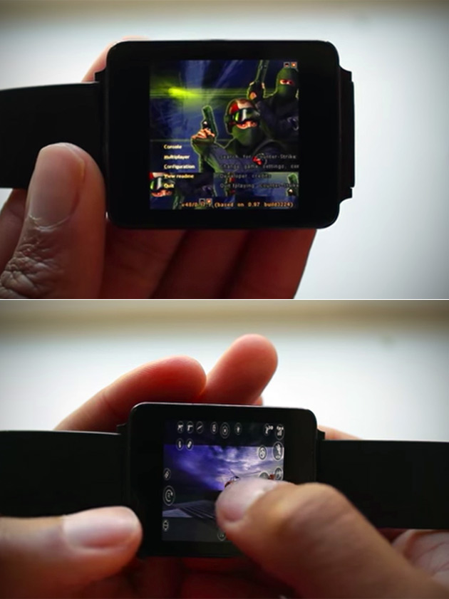 Android Wear Counterstrike