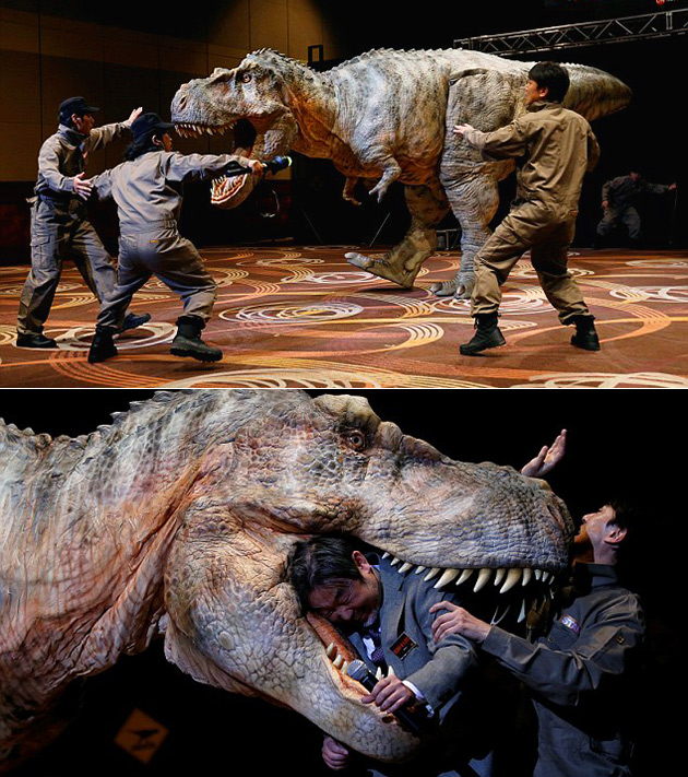 Animatronic Dinosaur Dino-A-Live