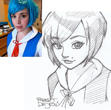 Anime People Art