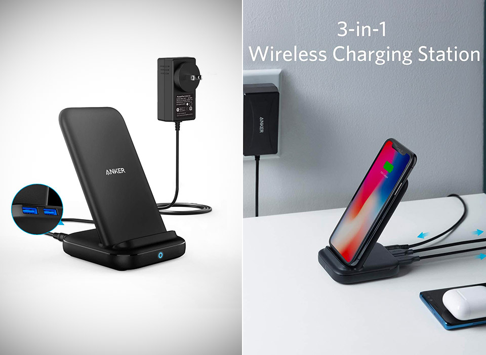 Anker 3-in-1 Multi-Device Wireless Charging Station