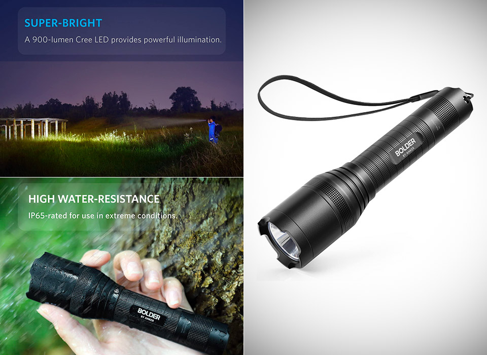 Anker Bolder LC90 LED Flashlight Torch