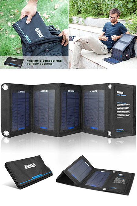 Anker Dual-Port Solar Charger