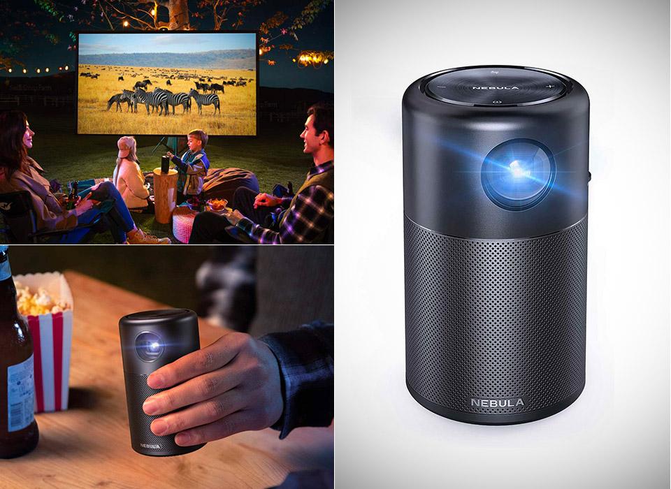 Anker Nebula Capsule Smart Wi-Fi Mini Projector 2021