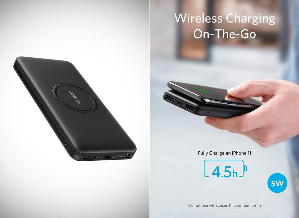 Anker PowerCore 10000mAh Wireless Charging Power Bank USB-C