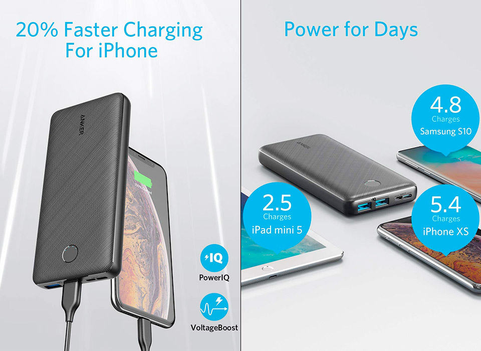 Anker PowerCore Essential 20,000mAh Power Bank