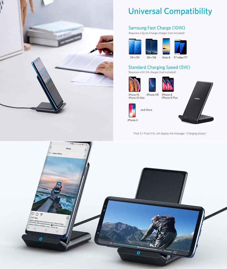 Anker PowerWave Qi Charging Stand