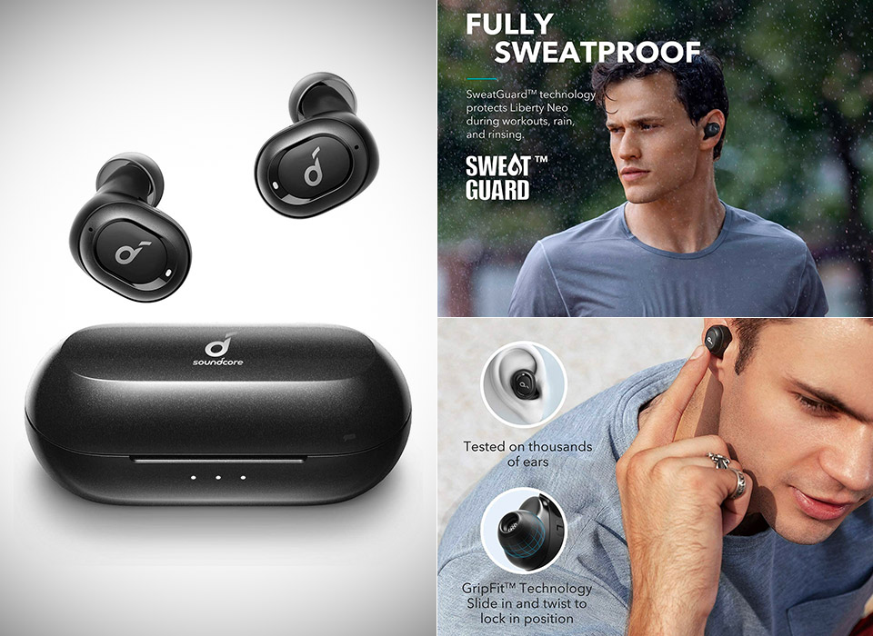 Anker Upgraded Soundcore Liberty Neo True Wireless Earbuds