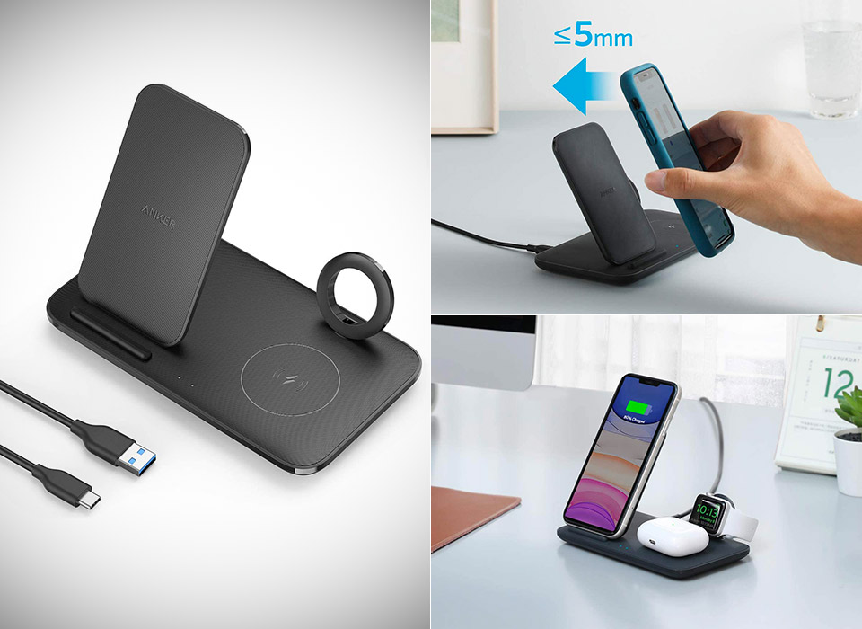 Anker Wireless Charging Station Apple