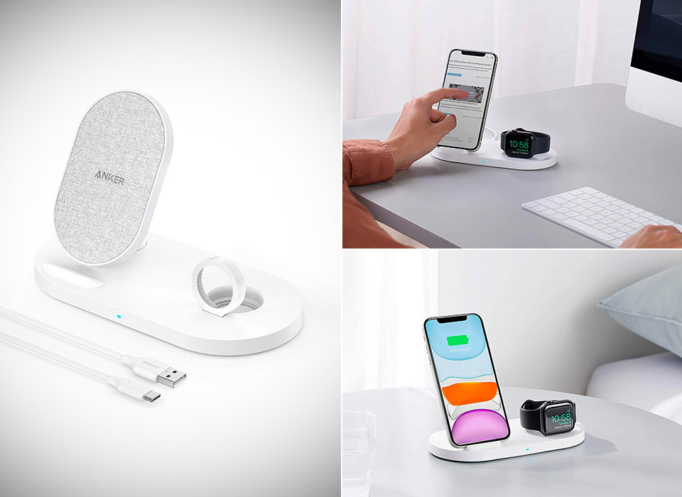Anker Wireless PowerWave Sense 2-in-1 Stand