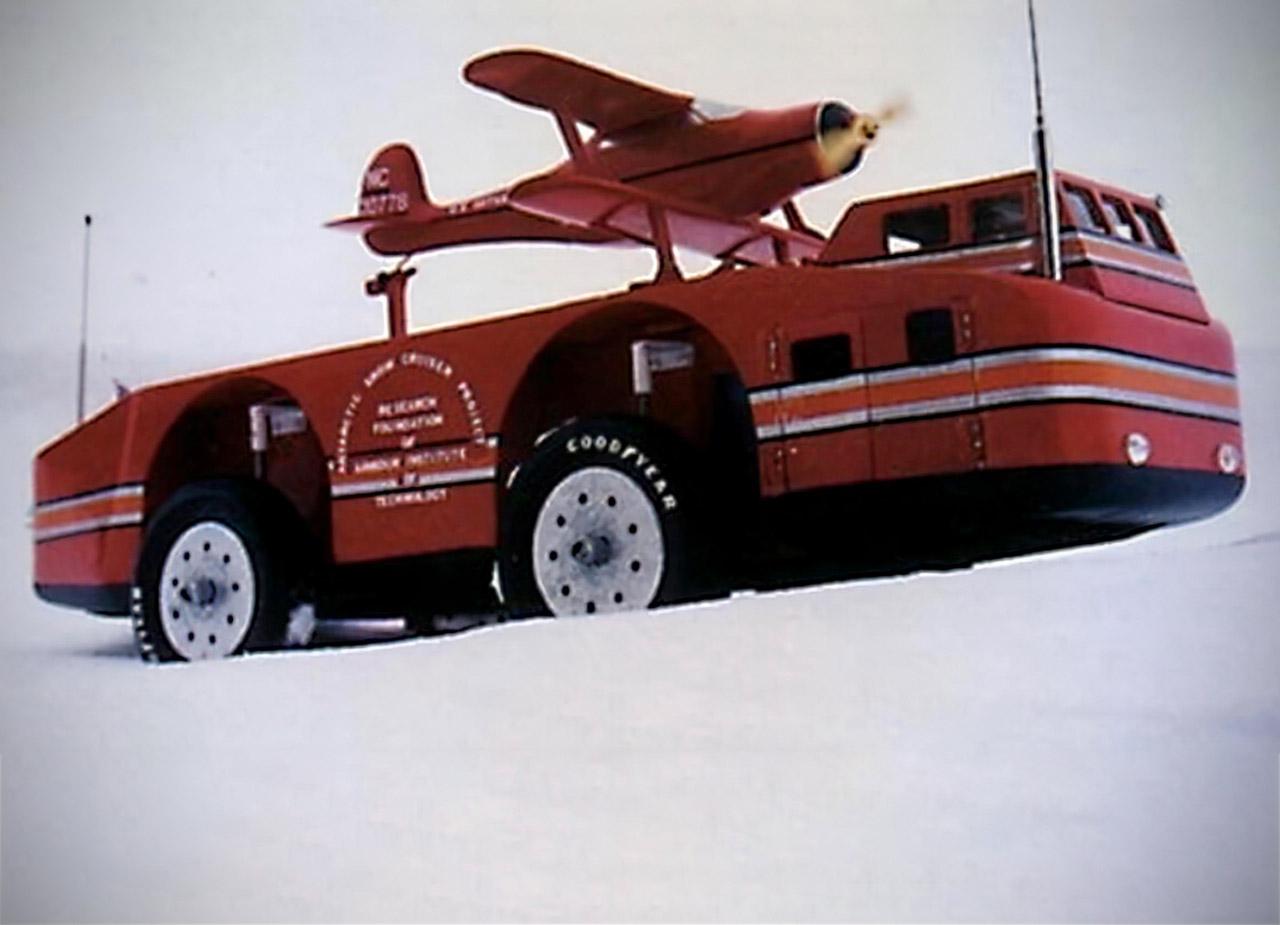 Antarctic Snow Cruiser RV Expedition Vehicle