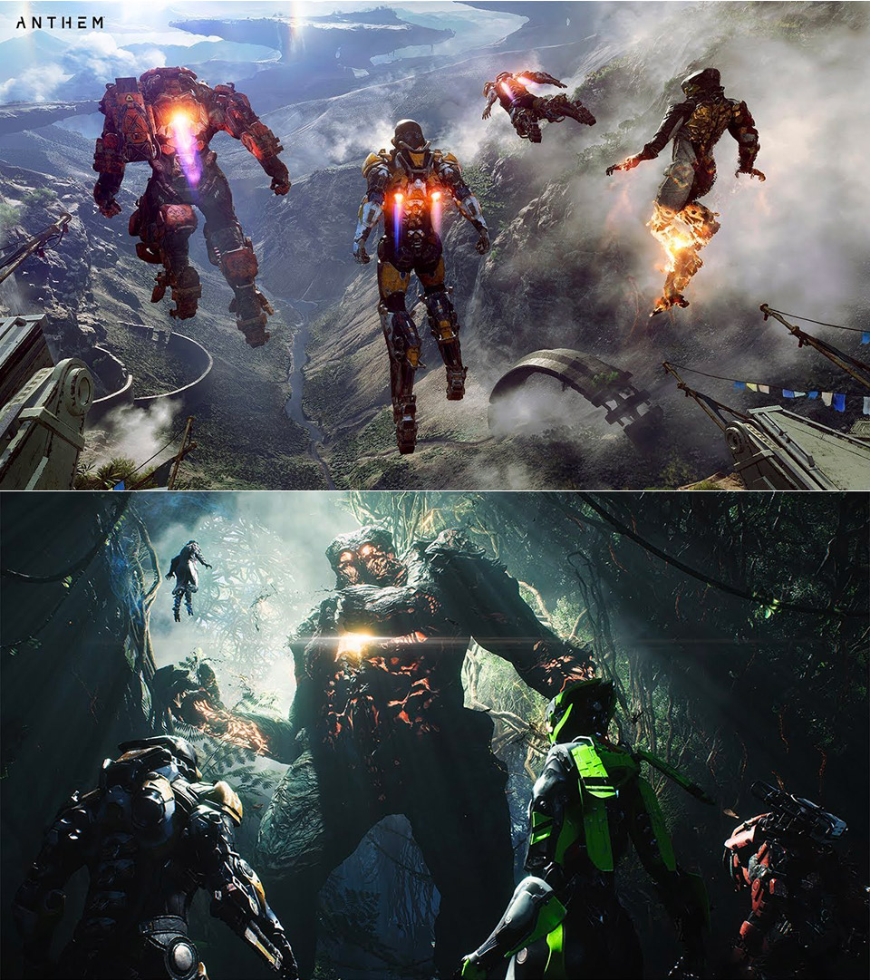 Anthem Electronic Arts BioWare