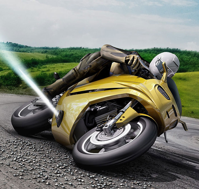 Jet Thruster Motorcycle