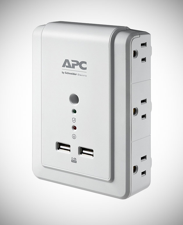 APC 6-Outlet USB Charging