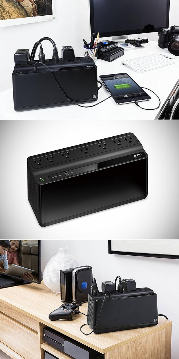 APC 600VA UPS Battery Backup