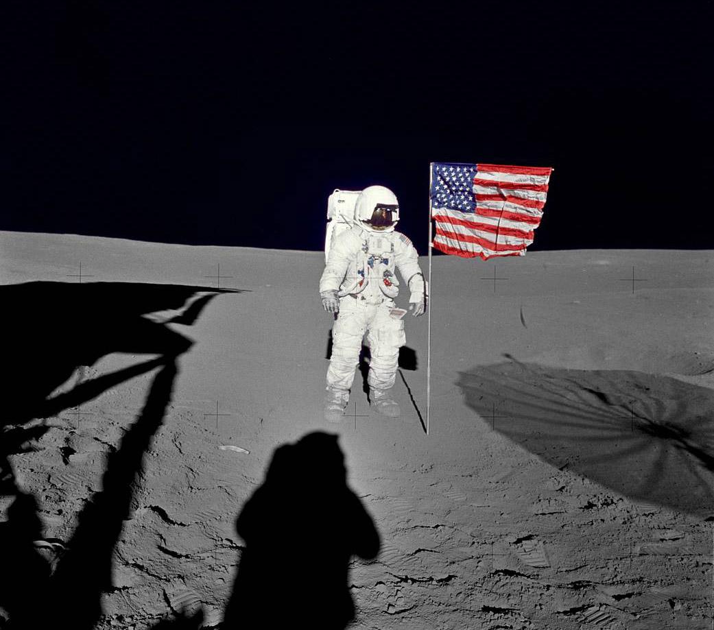 Apollo 14 Edgar Mitchell Moon