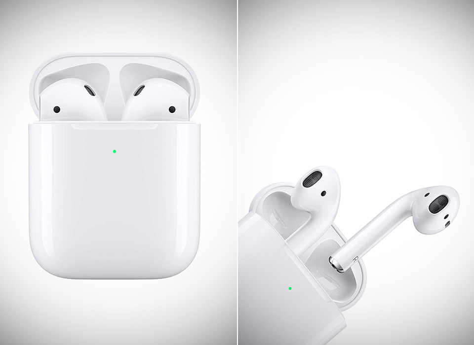 Apple AirPods 2 with Wireless Charging Case 2021