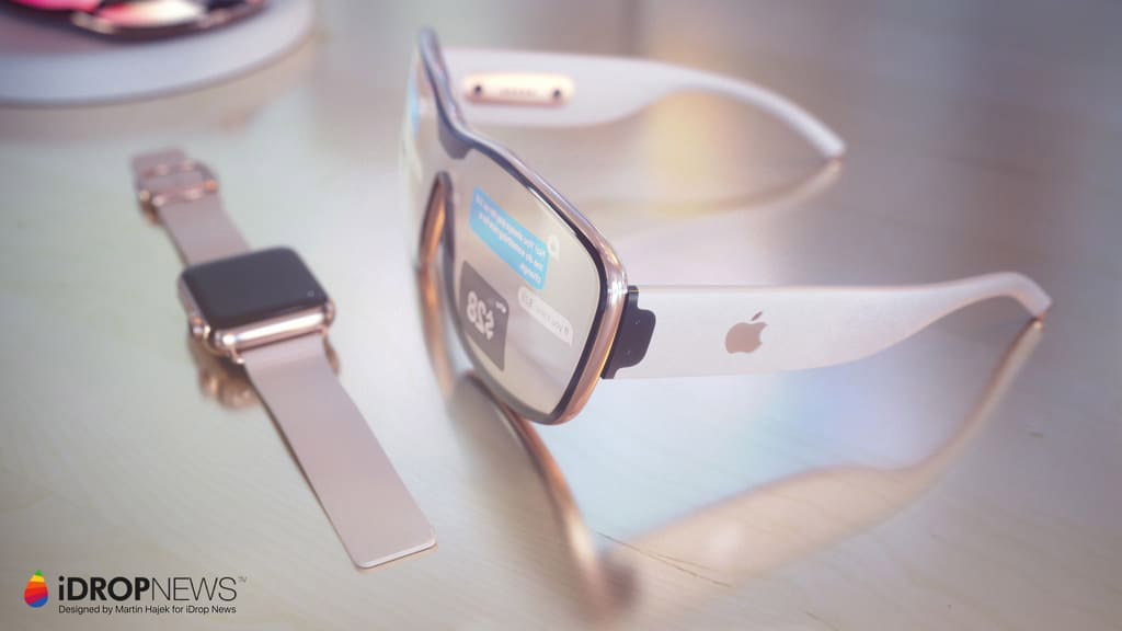 Apple Augmented Reality Glasses Sony OLED