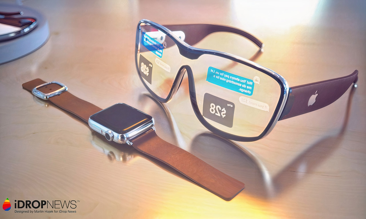 Apple Augmented Reality Glasses
