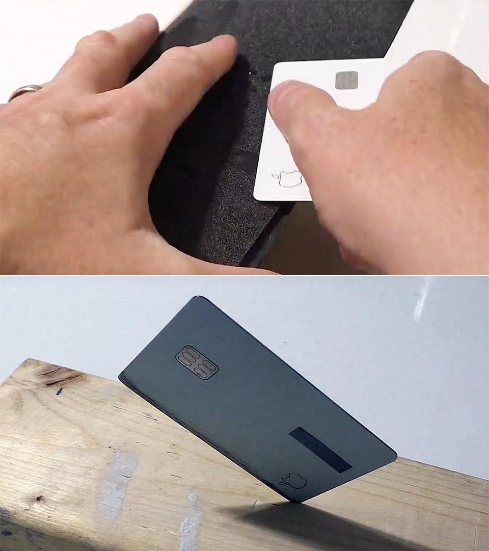 Apple Card Knife