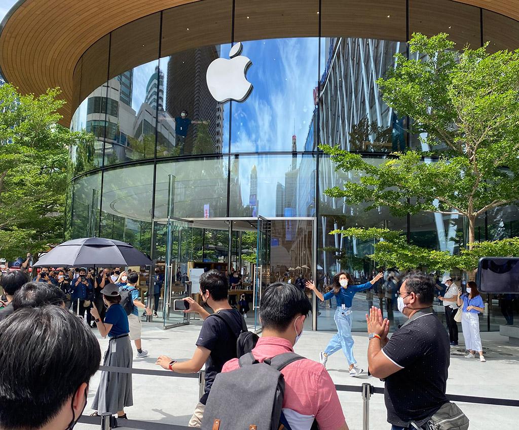 Apple Central World Thailand