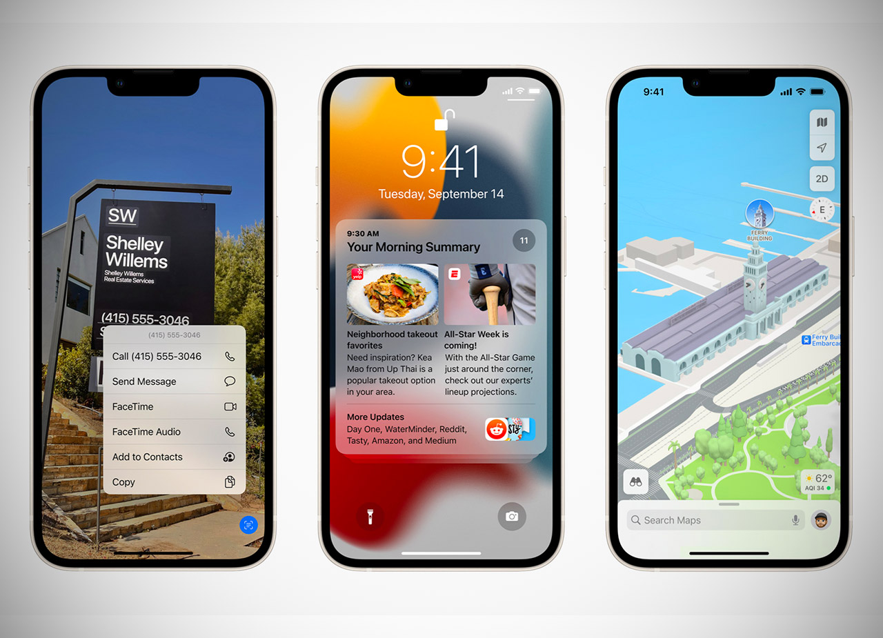 Apple iOS 15 iPhone iPad Update Features Review