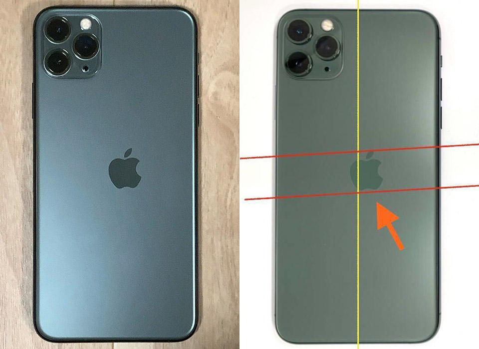 Apple iPhone 11 Pro Max Misprint Logo