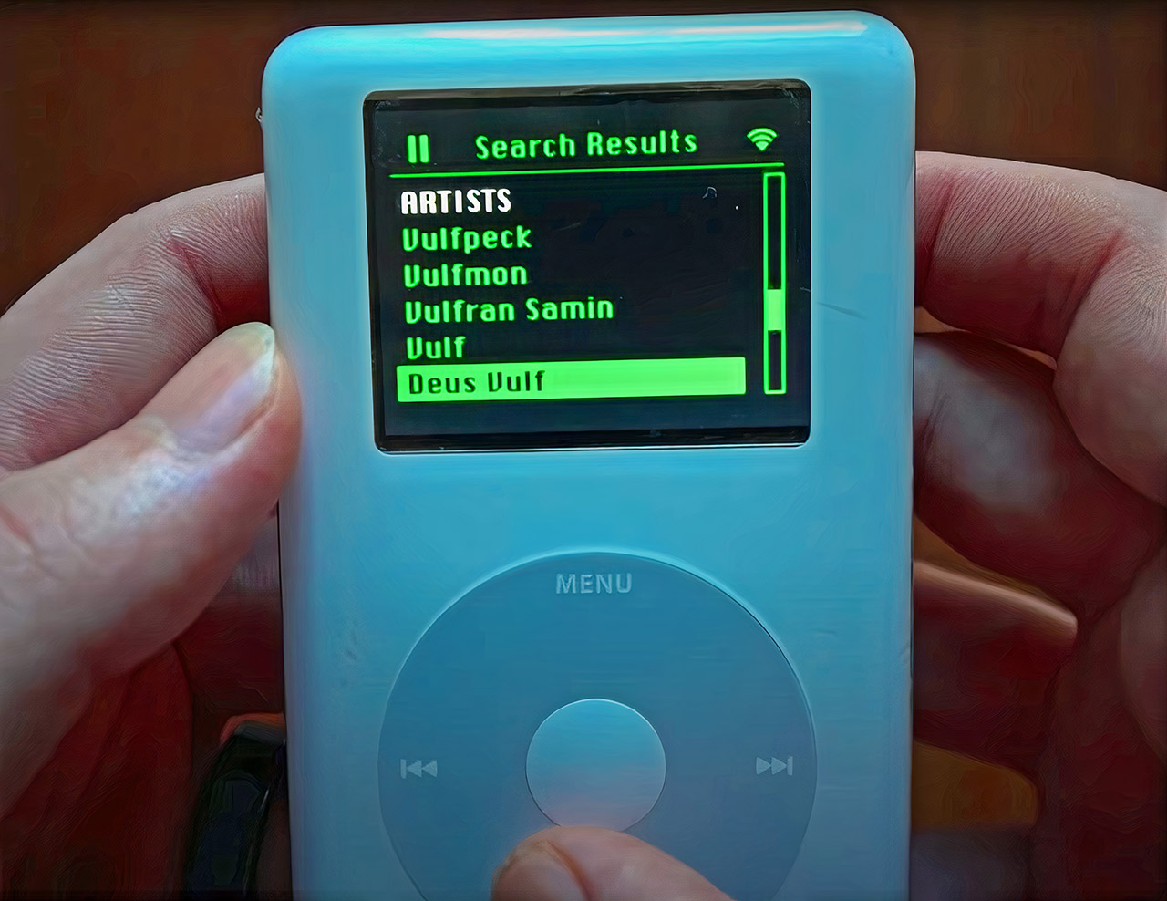 Apple iPod Classic Spotify Streaming