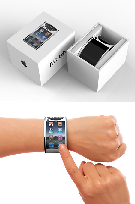 If Apple's iWatch Had a Flexible OLED Display, This is ...