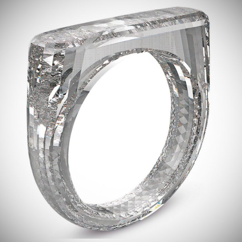 Apple Jony Ive Diamond Ring