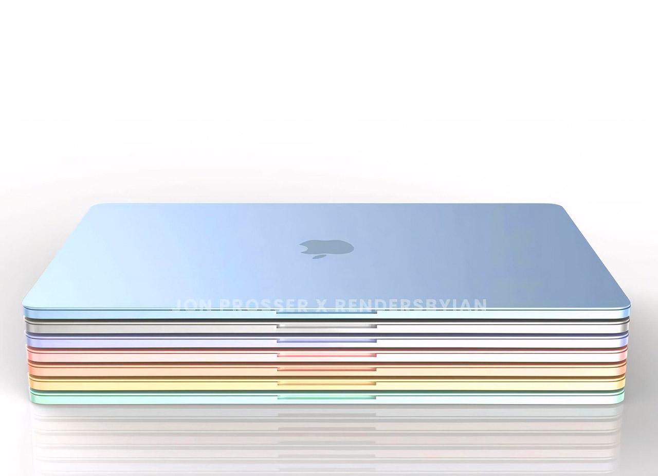 Apple MacBook Air M2 Colors
