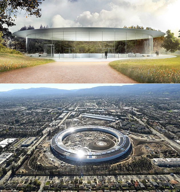 Apple Park Steve Jobs Theater