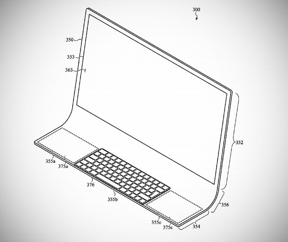 Apple Patent iMac Curved  Glass
