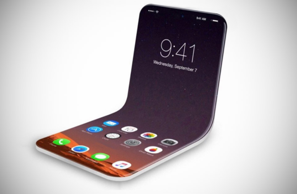 Apple Patent iPhone Flexible Display